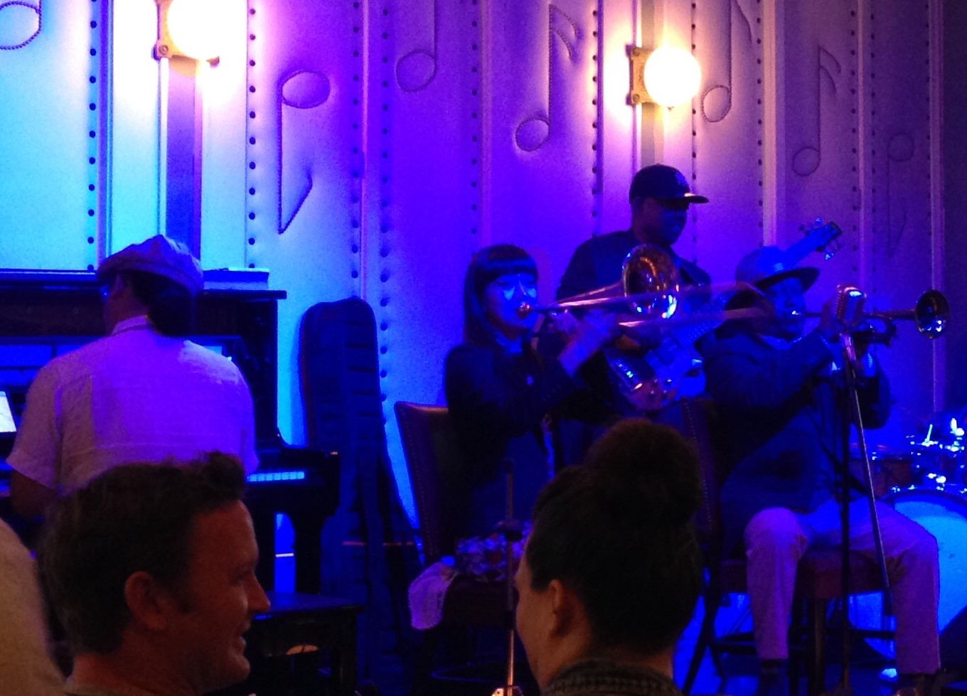 Kermit Ruffins and His Barbecue Swingers at Little Gem Saloon, New Orleans