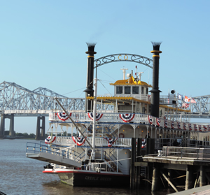 Mississippi River Boat Creole Queen